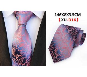 New Classic Floral Striped Luxury Mens Necktie