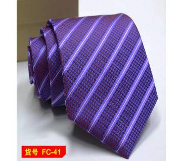 Classic Floral  Striped Luxury Mens Necktie
