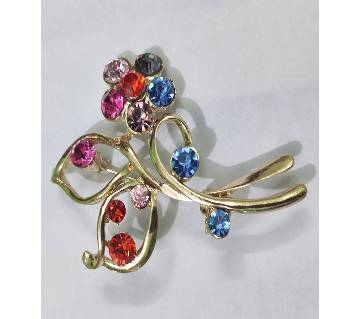 Cute Crystal Stone Brooches pins For Women