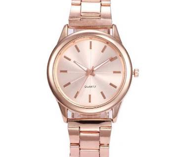 Stainless steel Luxury Quartz Watch For Woman