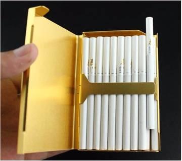 Alloy Thin Cigarette Case