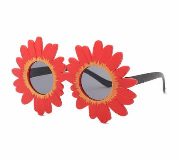 Lovely Kids Sunflower Shapes Cool Sunglasses For Girls