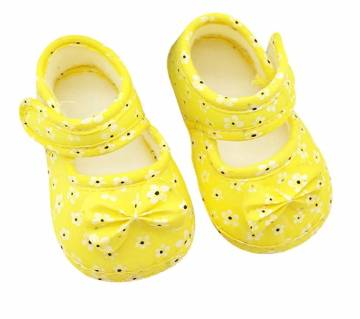 Sweet Baby Girls Princess Bowknots Flower Casual Shoes