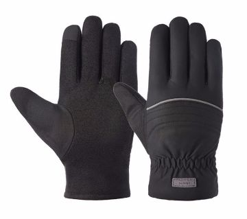 Riding,Driving Touch Screen Non-slip Waterproof And Windproof  Warm Gloves