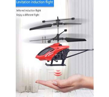 Rc Mini Remote Control  Flying Flashing Light Helicopter
