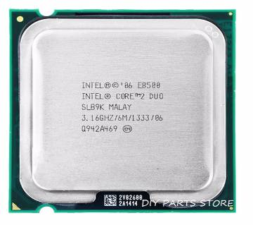 INTEL E8500 Processor Core 2 Duo E8500 CPU (3.16Ghz/ 6M /1333GHz) Socket LGA 775