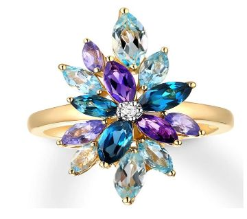 Crystal CZ Rings Cubic Zirconia Rings For Women