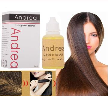 Andrea Hair Growth Oil Essence Natural Extract Serum Product Hair Loss Growth Liquid-20ml-china