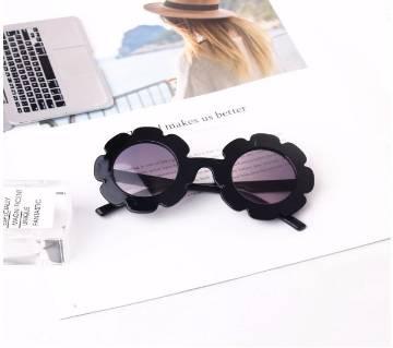 New Kids Round Flower Sunglasses For Girls Boys