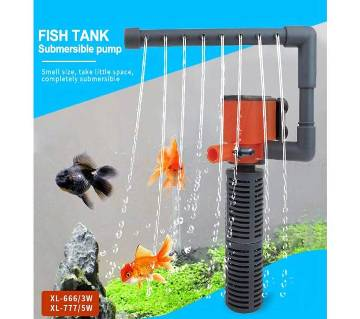 Fish Turtle  Water Purifier 5W Built-In Filter Three-In-One Ultra-Quiet Oxygen Pump