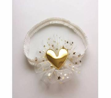 1pcs Cute PU Heart Headbands For Baby girl