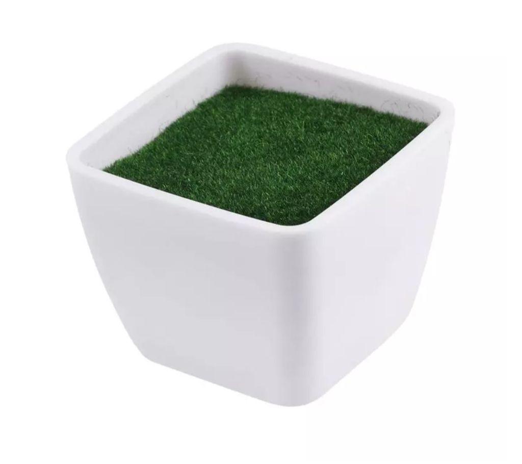 Plastic Artificial Flower Plant Vase Simple ফ্লাওয়ার পট বাংলাদেশ - 1207773