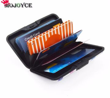 Aluminum Card Holder Wallet Case-1 Pcs