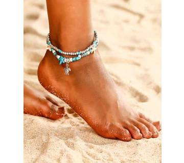 New Fashion Bohemian Beads Sea Turtle Anklets For Women