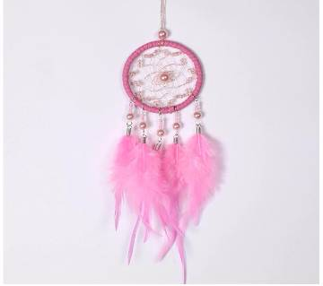Handmade Car Pendant Home Wall Hanging Decor Feathers  Craft