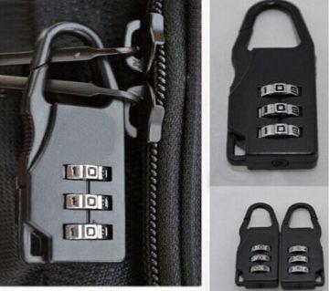 1pcs 3 Digit Dial Combination Code Number Luggage Zipper Bag Backpack Locker