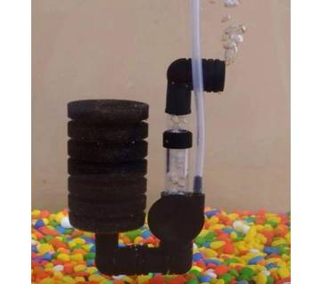 1PCS  Fish Tank Air Pump  Biochemical Sponge Aquarium Filter
