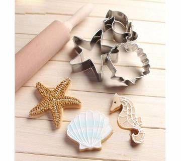 3 pcs Baking Cookie Cutter Mold