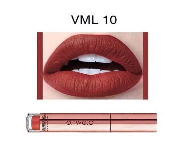 O.TWO.O Matte Liquid Waterproof Long Lasting Velvet Lip Gloss-4ml-China