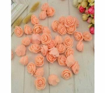 25pcs PE Foam artificial flowers decoration for Home decor gift box diy wreath Multi-use