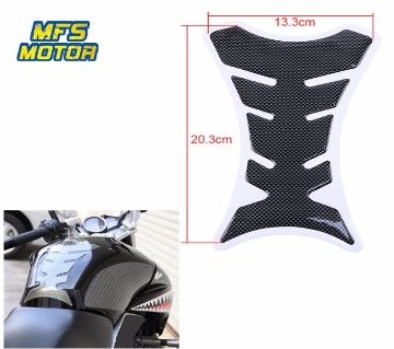 Carbon Fiber Tank  Fuel Cover Sticker Decal Motorcycle Styling