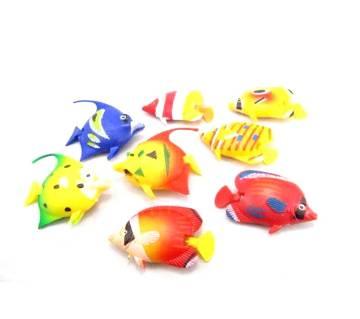 5pcs Floating Plastic Fish Decor for Aquarium
