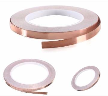 6mmx20m  Copper Self-Adhesive Tape Copper Foil