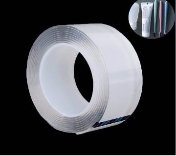 1meter Strong Acrylic Nano Super Transparent Reusable Waterproof Double Sided Adhesive Tapes