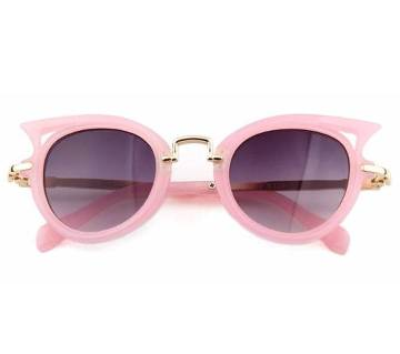 Fashion Metal Eyeglasses UV400 Vintage Girls Sunglasses