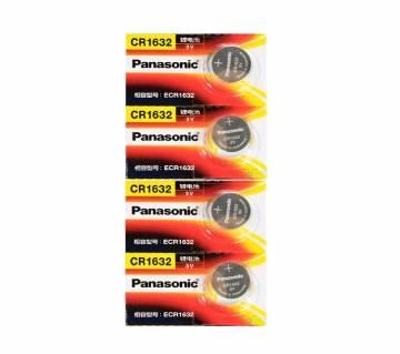 1pcs Original PANASONIC CR1632 3V High-Performance Button Batteries