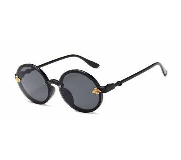 Cute Round Little Bee UV400 Retro SunGlasses For Girls
