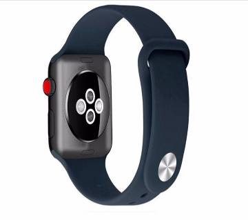 Silicone Replacement Sports Strap Watch Band for Apple Watch iWatch 38/40MM iWatch Series 1 2 3 4