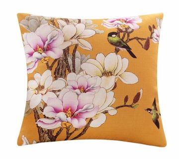 1 pcs Home Decor Flowers Polyster Square Pillow Cover