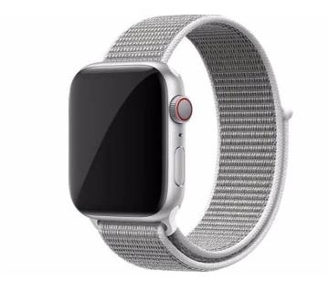 44MM/42MM Nylon Soft Replacement Strap For Apple Watch Series 4/3/2/1 (copy)-White