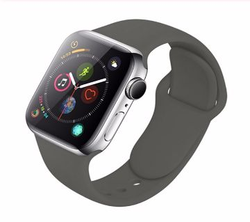 44MM/42MM Silicone Soft   Strap For Apple Watch Series 4/3/2/1
