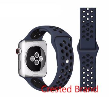 44MM/42MM Silicone Soft  Replacement Strap For Apple Watch Series 4/3/2/1(copy)-Doted