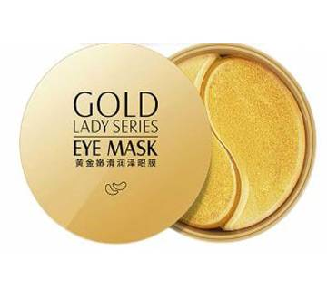 Gold Eye Mask Anti Wrinkle Crystal Collagen Eye Patches for Eye Care Dark Circles Remove Eye Mask Gel Anti-Aging Skin Care-60pcs-80g-China