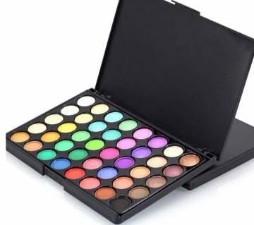 Popfell 40 Colors Matte Glitter Pigment Smoky Eye Shadow Set Professional Make up-50g-China