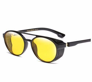 Retro Round Hollow Steampunk Vintage Sunglasses For Men