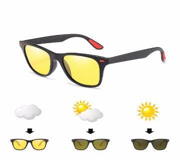 Polarized Photochromic Night Vision UV400 Sunglasses For Men
