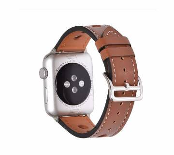 44mm/42mm Leather  Strap For Apple Watch series 4 3 2 1