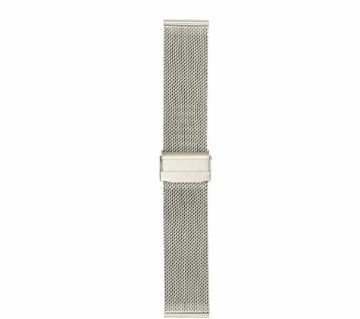 22mm Stainless Steel  Double Buckle  Bracelet Watch Strap