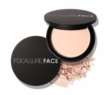 FOCALLURE Oil Control Natural Foundation Smooth Powder-8.4g-China