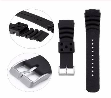 Silicone Rubber Strap Belt Wrist Loop Bracelet + Pin Samsung Gear S3 Classic / Frontier 22mm
