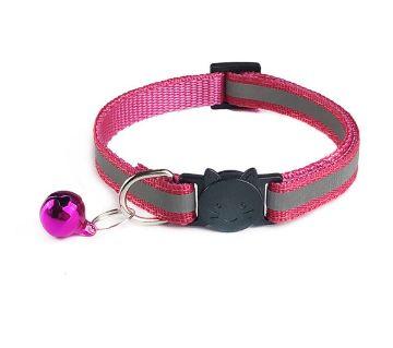 Printed Cute Cat collar with bell Breakaway