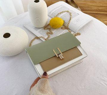 Fashion Crossbody One pocket Chain Messenger Shoulder Handbag