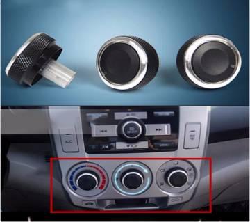 3pcs Honda Heat Control Knob