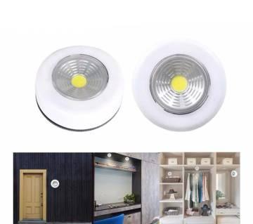 LED COB Wireless Wall Night Light For Wardrobe Closet Stair Kitchen Bedroom-1Pcs