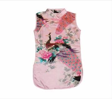 Girls Kids Sleeveless Dress(Size:4-5Years girls)