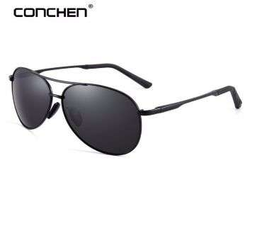 Pilot Polarized Metal Frame Sunglasses For Men